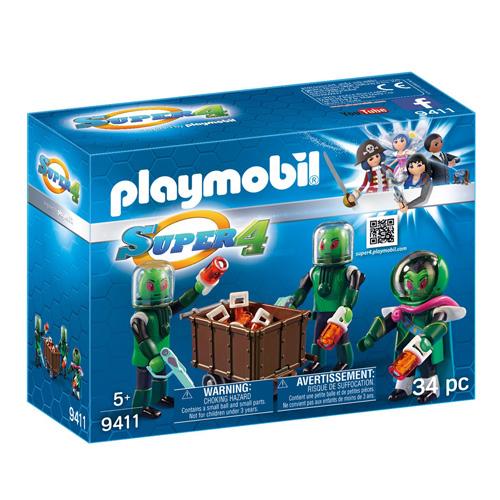 Obyvatelé Sykronie Playmobil Super 4, 34 dílků