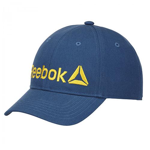 Dětská kšiltovka Reebok Logo Cap | Modrá | UNIVERZÁLNÍ