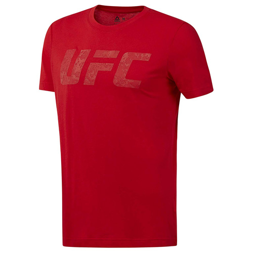 Tričko Reebok UFC FG Logo | Červená | L