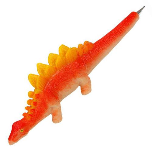 Kuličkové pero Dino World ASST Oranžový dinosaurus