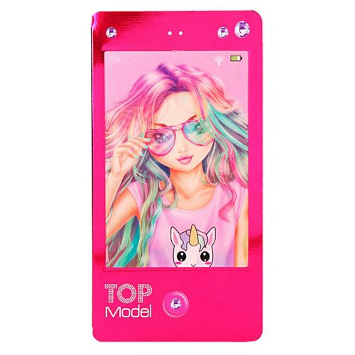 Zápisník Top Model ASST Dívka s brýlemi, tmavě růžový