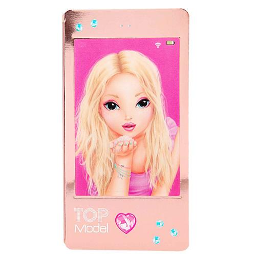 Zápisník Top Model ASST Dívka posílající polibek, růžový