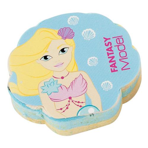 Magický ručník Fantasy Model ASST S mořskou pannou, 30 x 30 cm