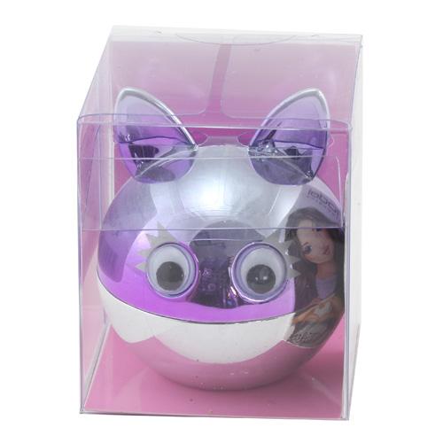 Lesk na rty Top Model ASST Stříbrně-fialová kulička s ušima