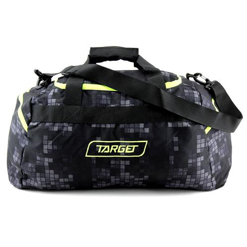 Cestovní taška Target Kostkovaná, černá