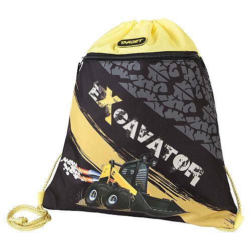 Sportovní vak Target Bagr, žluto-černý