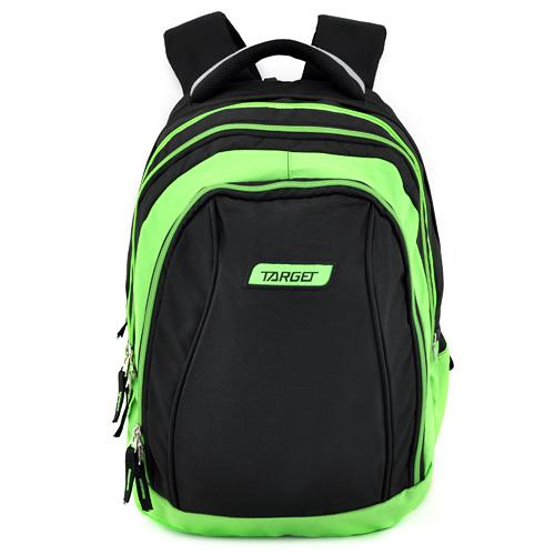 Školní batoh 2v1 Target Zeleno-černý