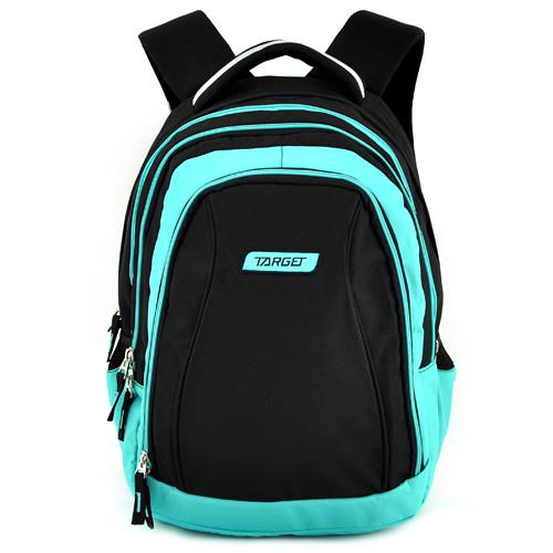Školní batoh 2v1 Target Modro-černý