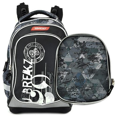 Školní batoh Target 96, černý