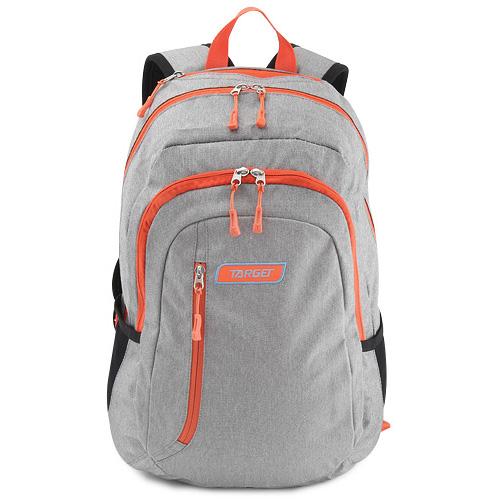 Studentský batoh Target Oranžovo-šedý