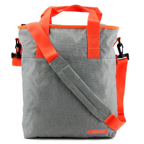 Taška přes rameno Target Melange, oranžovo-šedá