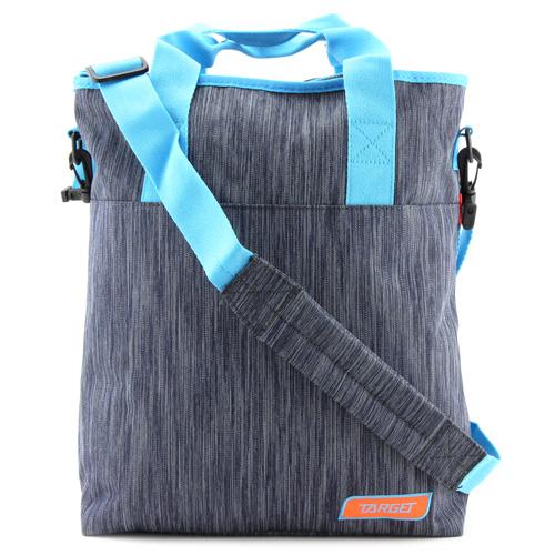Taška přes rameno Target Melange, modro-šedá