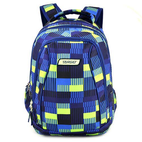 Školní batoh 2v1 Target Žluto-modrý se vzorem