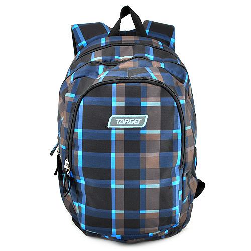 Studentský batoh Target Šedo-modro-černý
