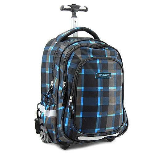 Školní batoh Trolley Target Šedo-modro-černý