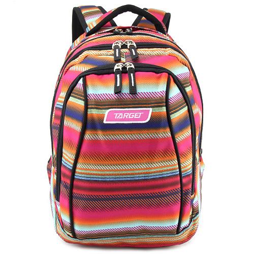 Školní batoh 2v1 Target Barevné vzory