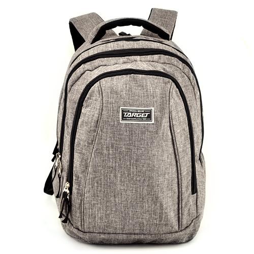 Školní batoh 2v1 Target Šedý