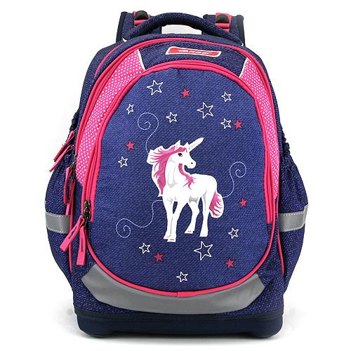 Školní batoh Target Jednorožec, růžovo-modrý