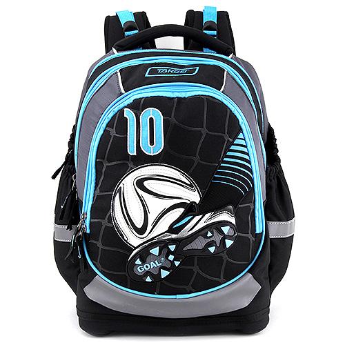 Školní batoh Target Fotbal, modro-černý