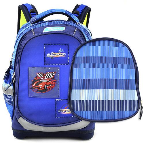 Školní batoh Target Závodní auto, modrý
