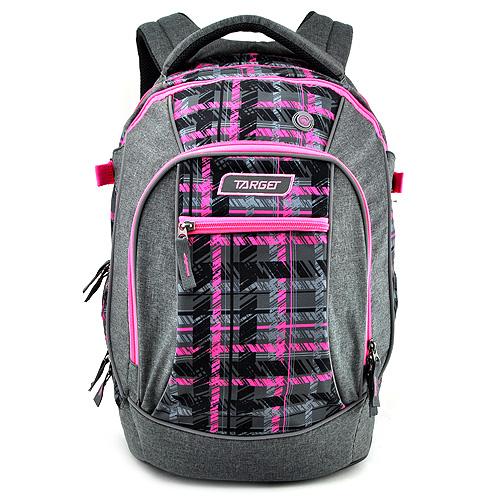 Studentský batoh Target Růžovo-šedý