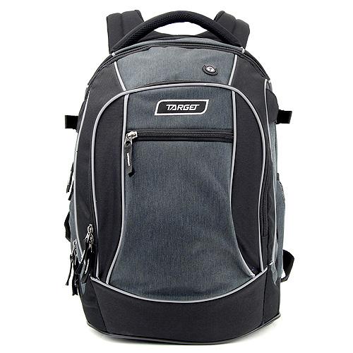 Studentský batoh Target Šedo-černý