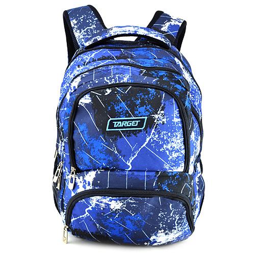 Školní batoh Target Modrý se vzorem