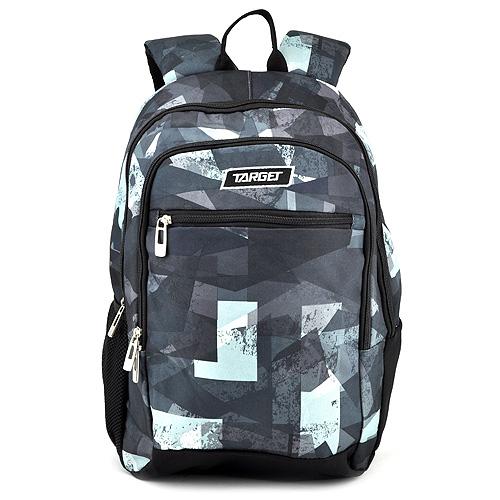 Studentský batoh Target Šedo-černý se vzorem