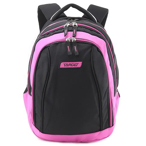 Školní batoh 2v1 Target Růžovo-černý