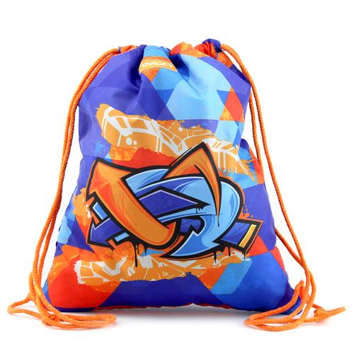 Sportovní vak Target Graffiti, modro-oranžový