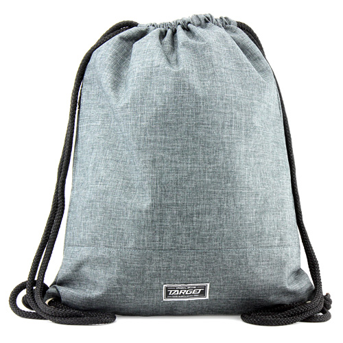 Sportovní vak Target S boční kapsou, šedý