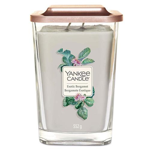 Svíčka ve skleněné váze Yankee Candle Exotický bergamot, 552 g