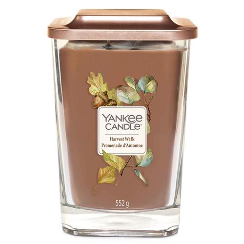Svíčka ve skleněné váze Yankee Candle Sklizeň, 552 g