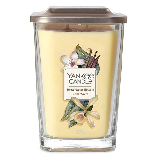 Svíčka ve skleněné váze Yankee Candle Sladký květinový nektar, 552 g