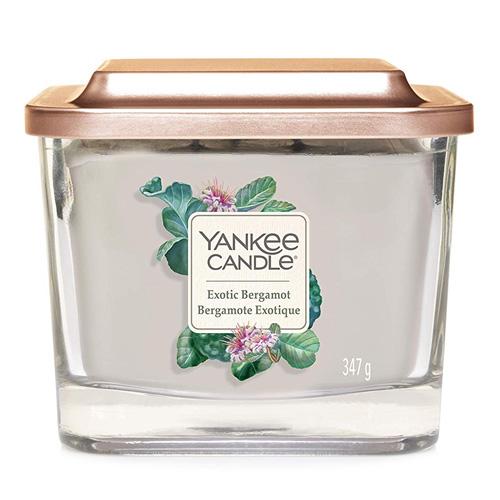 Svíčka ve skleněné váze Yankee Candle Exotický bergamot, 347 g