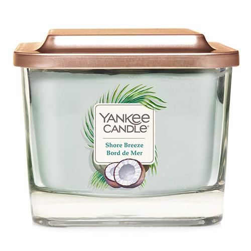 Svíčka ve skleněné váze Yankee Candle Mořský vánek, 347 g