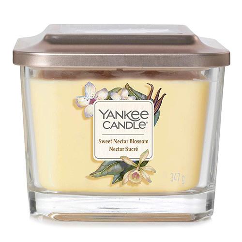 Svíčka ve skleněné váze Yankee Candle Sladký květinový nektar, 347 g