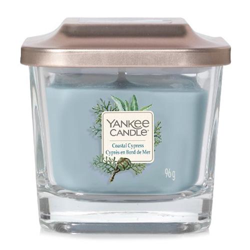 Svíčka ve skleněné váze Yankee Candle Pobřežní cypřiš, 96 g