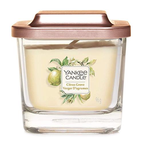 Svíčka ve skleněné váze Yankee Candle Citrusový háj, 96 g