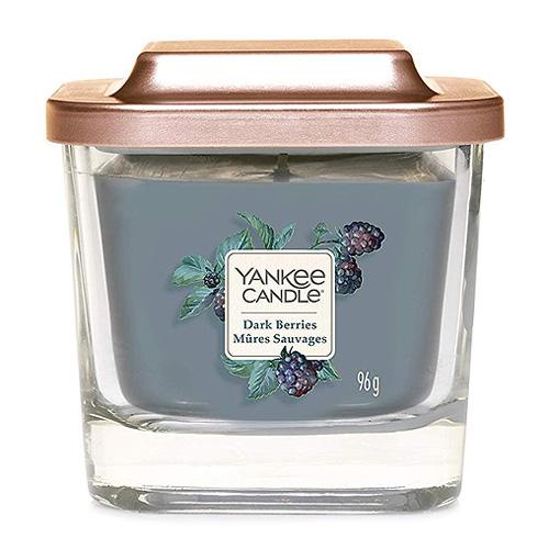 Svíčka ve skleněné váze Yankee Candle Ostružina, 96 g