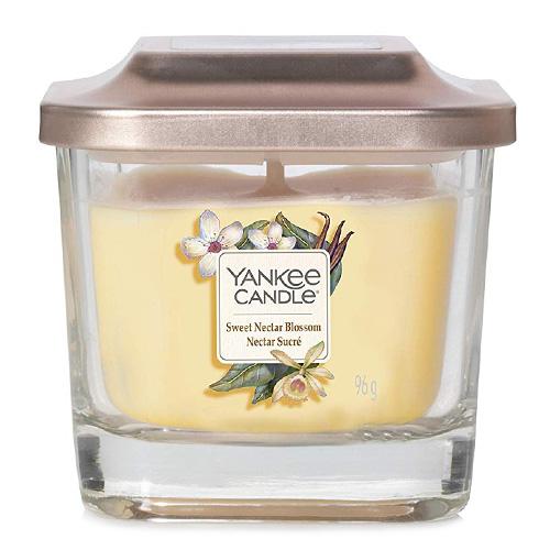 Svíčka ve skleněné váze Yankee Candle Sladký květinový nektar, 96 g