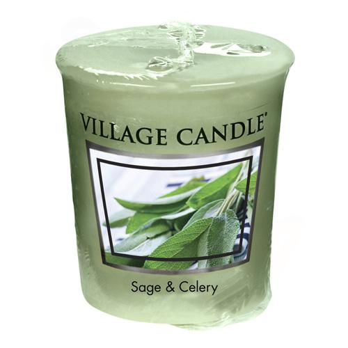 Vonná svíčka Village Candle Svěží šalvěj, 57 g