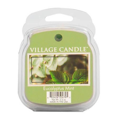 Vonný vosk Village Candle Eukalyptus a máta, 62 g