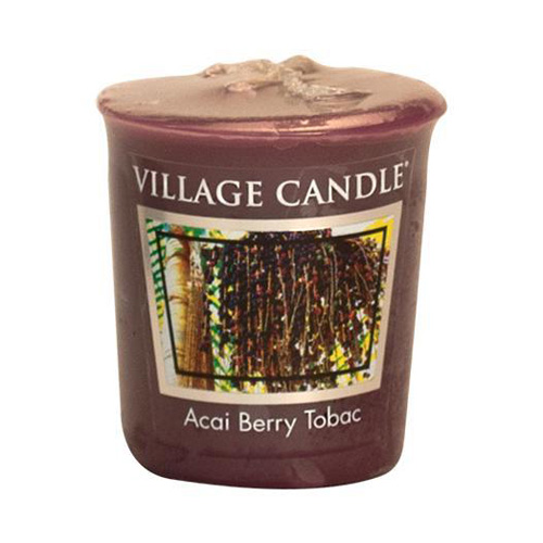 Vonná svíčka Village Candle Tabák a plody akai, 57 g