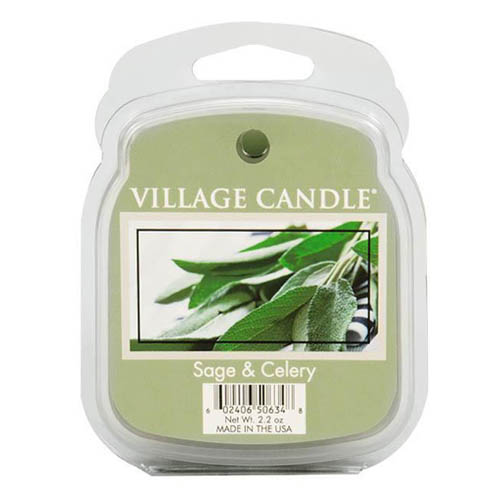 Vonný vosk Village Candle Svěží šalvěj, 62 g