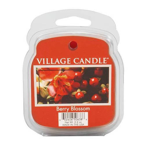 Vonný vosk Village Candle Červené květy, 62 g