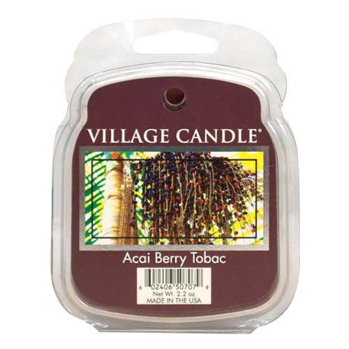 Vonný vosk Village Candle Tabák a plody akai, 62 g