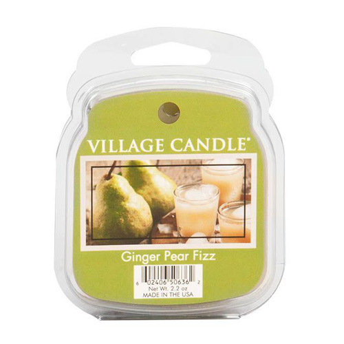 Vonný vosk Village Candle Hruškový fizz se zázvorem, 62 g