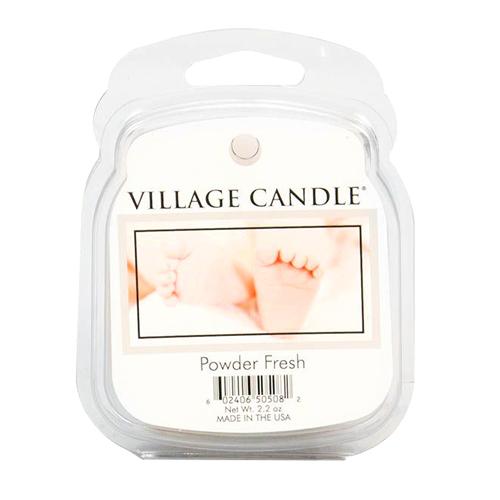Vonný vosk Village Candle Pudrová svěžest, 62 g