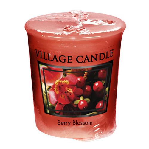 Vonná svíčka Village Candle Červené květy, 57 g